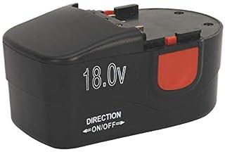 Sealey CPG18VBP Cordless Power Tool Battery for CPG18V, 18V, Black