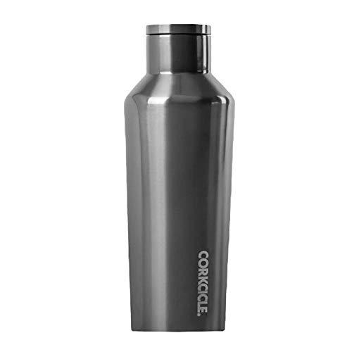 Corkcicle Botella aislada de acero inoxidable, 264 ml, diseño de cantina