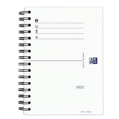 Oxford My Fab, Recambio Agenda A5 2022 Día Página, Castellano