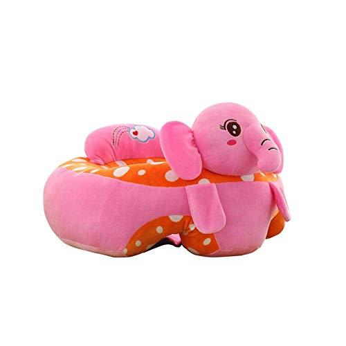 Sitzsack Kinder,Sitzsack Baby Kindersitzsack Spielzimmer Baby Stützsitz Lernen Sitzen Weichen Stuhl Kissen Sofa Plüsch Kissen Spielzeug (Elefant)