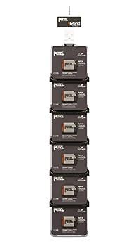 PETZL Cross Merchandising 6Core Kit de 2Piles Rechargeables pour Lampe Frontale, Multicolore, Taille Unique