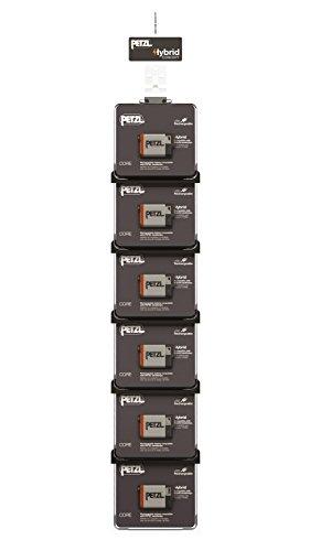 PETZL Cross Merchandising 6 Core Kit de 2 Piles Rechargeables pour Lampe Frontale, Multicolore, Taille Unique