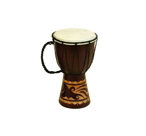 Our #3 Pick is the Deco Wood & Leather Djembe Drum