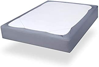 Box Spring Cover Queen Size with Smooth and Elastic Woven Material, Wrinkle & Fading Resistant, Washable, Dustproof.
