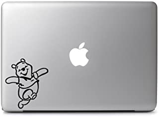 Trademark Unique Deals Winnie Pooh Bear Vinyl Sticker Skin Decal, Die Cut Vinyl Decal for Windows, Cars, Trucks, Tool Boxes, laptops, MacBook - virtually Any Hard, Smooth Surface