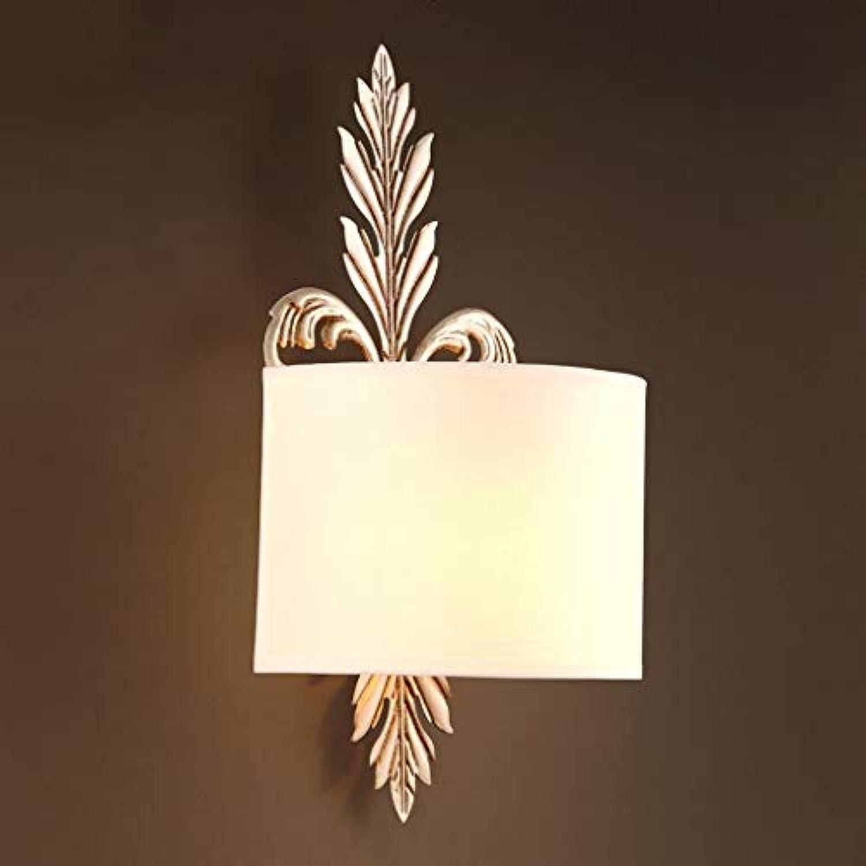 BAIJJ Die Erntezeit-Kreative Wandleuchte Schlafzimmer Nachttischlampe Einfache Tuch Wandleuchte Dekoration Lampen-E27 Lampe