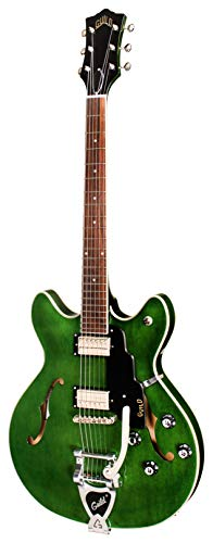 Guild Guitars Starfire I DC Semi-Hollow Body Electric Guitar, Emerald Green, Double-Cut w/ Guild Vintage Tuners, Newark St. Collection