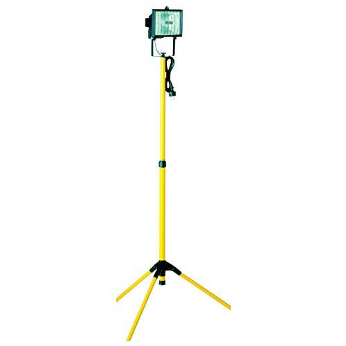 Smartwares TL400 Luz de trabajo, Con trípode, 400W, Ajustable desde 1,05 hasta 1,92 metros