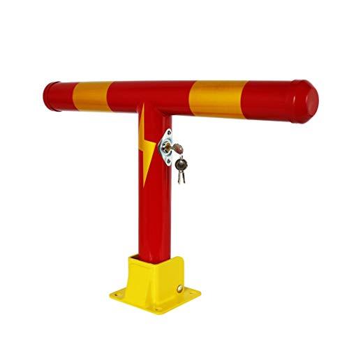 SGMYMX Poller Schwere Metallpoller, Poller for Einfahrt-Abfangjäger schwarz, rot Pollergelenk (Color : Red)
