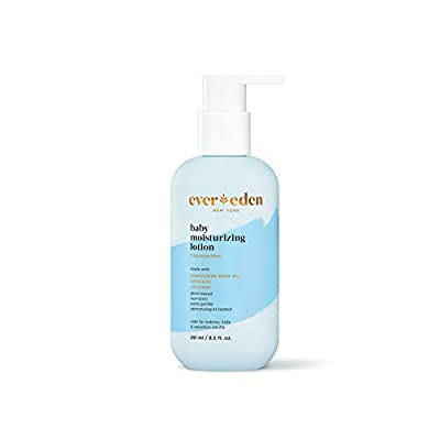 Evereden Baby Moisturizing Lotion: Fragrance Free, 8.5 fl oz. | Clean and Unscented Baby Care | Natural and Plant Based | Non-toxic and Fragrance Free by Evereden