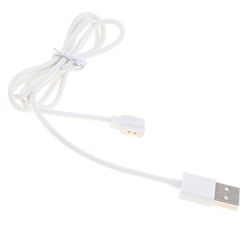 perfk Ersatz 2 Polig USB Ladekabel Kabel Magnetische Charging Basis Für Smartwatch