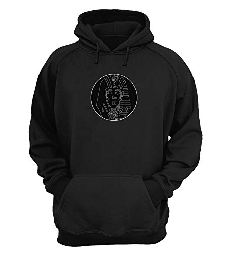 The Last King Egyptian Pharaoh Mummy Mask_KK019121 Hoody Hoodie Hooded Sweatshirt Sweater Weihnachten Christmas Geschenk for Men Women Fashion - 2XL - Black