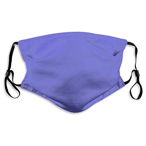 Reusable Fashion Washable Cover,5Ply Bandana Balaclavas,Cotton Mouth Face Cover Men Women Protect Cover,with 2 Filter,Color/Lilac/Background/Texture///