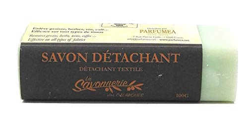 Savon détachant au Fiel de bœuf - Terre de Sommiére - Essence naturelle d'orange - (barre) 100g