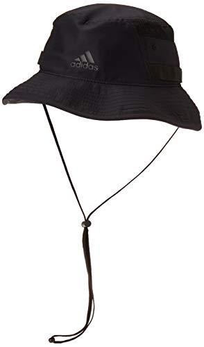 adidas Men's Victory III Bucket Hat, Black, L/XL