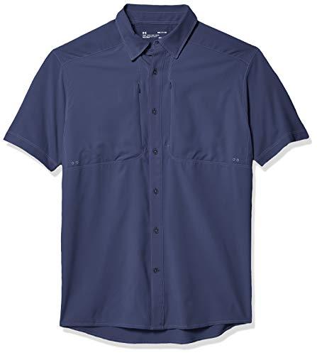 Under Armour Tide Chaser 2.0 Fish T-Shirt à Manches Courtes pour Homme Encre Bleue (497)/Encre Bleue, 3XL
