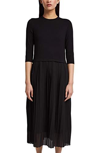 ESPRIT Collection 120EO1E320 Vestido, 001/Black, XXL para Mujer