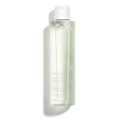 Caudalie Vinopure Natural Salicylic Acid Pore Minimizing Toner, 6.7 Ounce