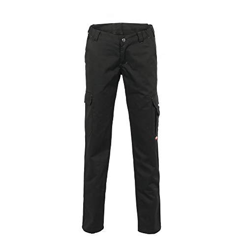 Planam Damen Arbeitshose Easy Outdoor Bundhose (54, schwarz)