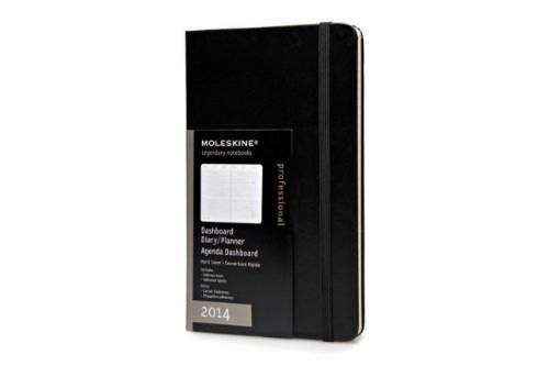 Moleskine Professionelle Kalender 2014 / Tisckalender / Large / Fester Einband / Schwarz (Moleskine Diaries)