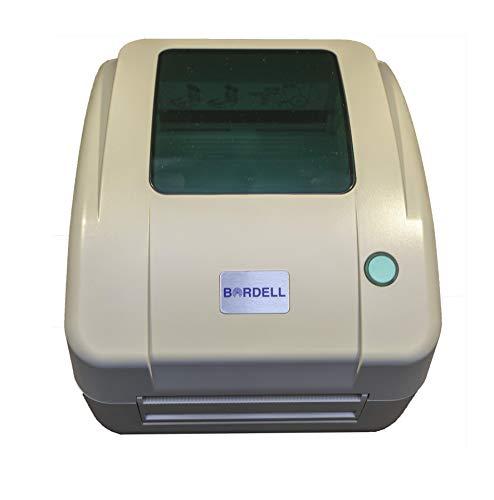 Bordell Direct - Impresora térmica multifunción de etiquetas para envío, color beige, formato...