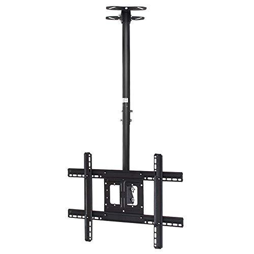 Daily Equipment Soporte de montaje para TV Soporte duradero para montaje en techo para TV Se adapta a televisores de panel plano de 32 55 65 pulgadas Montaje telescópico inclinable y giratorio de a
