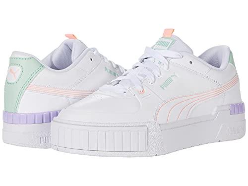 PUMA Cali Sport Pastel Mix Puma White/Elektro Peach/Mist Green/Light Lavender 5.5 B (M)