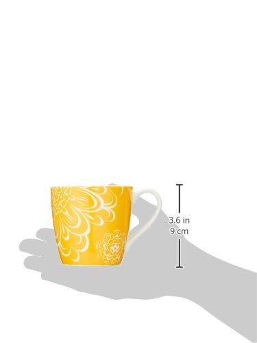 NARUMI(ナルミ)マグカップデイプラス(Day+)イエロー340cc電子レンジオーブン食洗機対応41281-2889