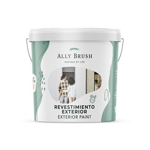 Ally Brush - Pintura exterior fachadas 3L y 10L (Blanco y colores)