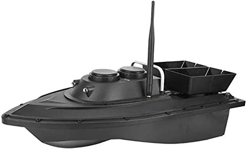 Barca da pesca RC Barca da pesca, 1.5kg Caricamento a carico del telecomando impermeabile Finder a remoto, 5,4 km / h 500m