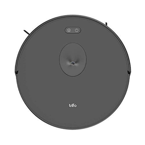 Trifo Ironpie m6 leistungsstarker Akku-Saugroboter mit Kameranavigation, manueller App-Steuerung und Selbstaufladung - Schwarz