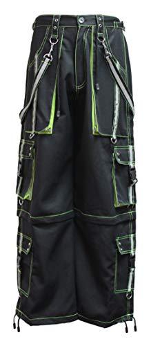 Dead Threads - Black and Neon Yellow Men's Trouser L/Black/Neon Yellow