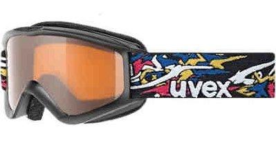 UVEX SPEEDY PRO Kinder Skibrille Snowboardbrille (black limited 5)