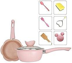 Frying Pan Cooking pan Color Ceramic Pan Grill Pan Induction Cooker Gas Aluminum pan Baby Milk pan