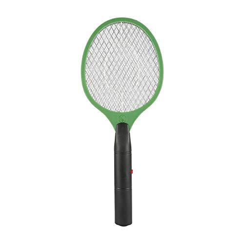 Ba30DEllylelly Matador de mosquitos eléctrico de batería para el hogar, matamoscas de insectos, raqueta de mosquitos, matamoscas de avispas electrónico