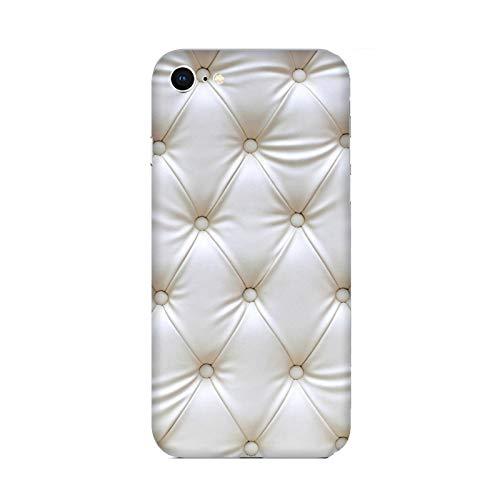 Funda iPhone 8 Carcasa Apple iPhone 8 Diseño de efecto colchón blanco Blanco / Cubierta Imprimir también en los lados / Cover Antideslizante Antideslizante Antiarañazos Resistente a golpes Protect