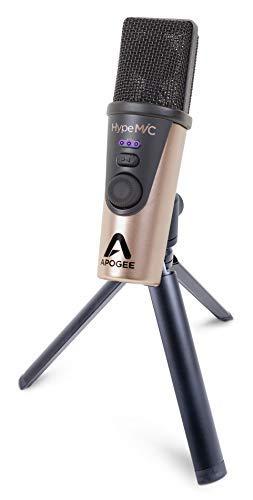 Apogee - HypeMIC - Micrófono de condensador USB, Oro rosa