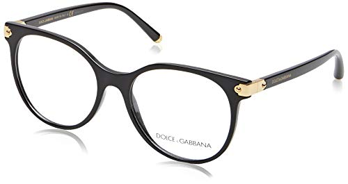 Dolce & Gabbana Damen Brillengestelle DG5032 Schwarz (Black) 53