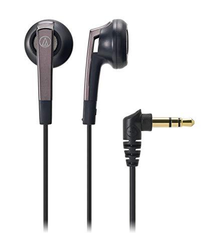 audio-technicaイヤホンインナーイヤー型ブラックATH-C505BK小型