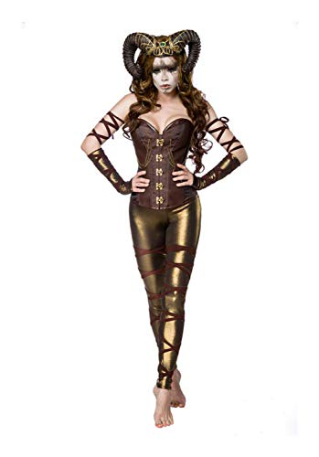 Mask Paradise Damen Komplettset-Kostüm Woodland Faun XL
