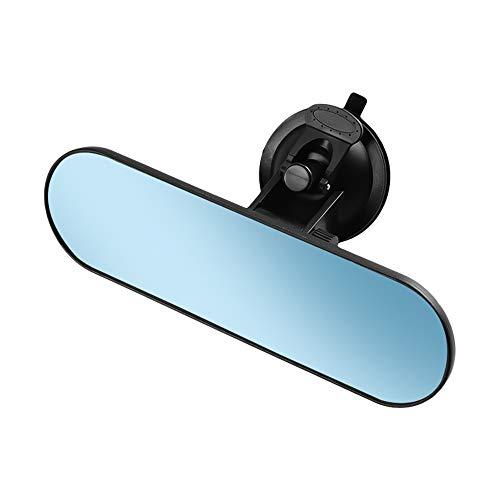KKmoon Auto Rückspiegel Universal LKW Spiegel 360 ° Verstellbarer Innenspiegel mit Saugnapf 220 * 65 mm für Auto LKW