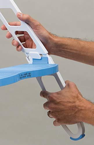 MOMMY'S HELPER トイレトレーニング 補助便座 ステップ付 折りたたみ式 BCMH11148