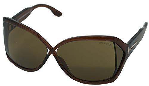 Tom Ford Gafas de sol Julianne FT0427 C62 48J (shiny dark brown/roviex)