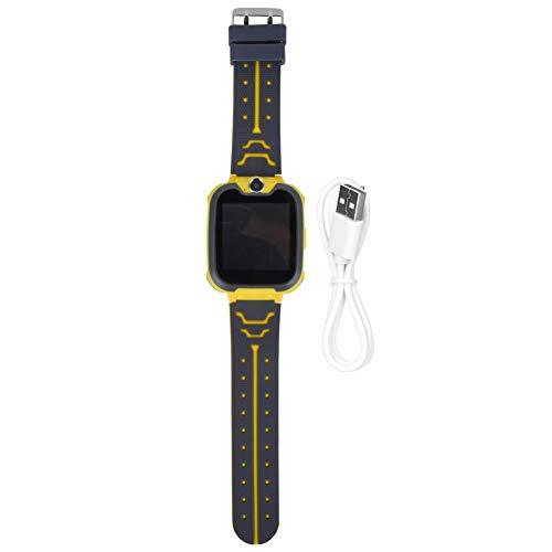 Wosune Reloj Multifuncional para niños, Reloj para niños, 2.1x1.6x0.6in, niños al Aire Libre para niños, niñas, hogar(Yellow)