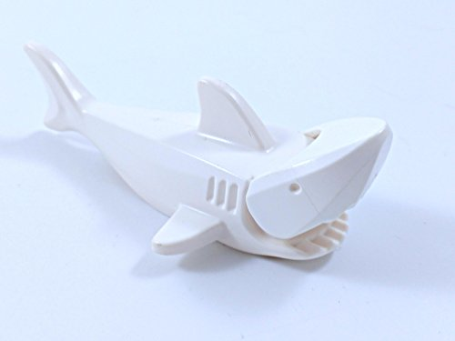 Lego White Shark with Gills rare
