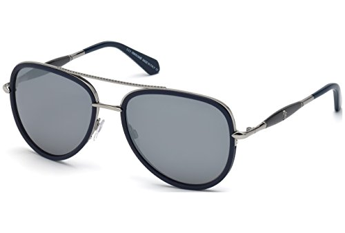 Gafas de sol Roberto Cavalli RC1022 C58 91C (matte blue / smoke mirror)