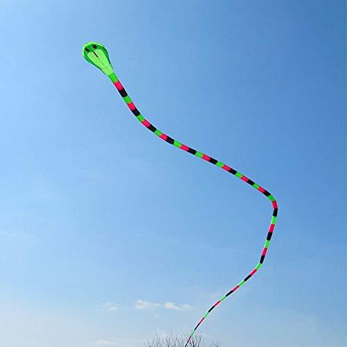 Tylyund Kites 40m Dual Kite Fly Snake Kite Windsock Big Soft Kite Wheel For Adults Outdoor Sport