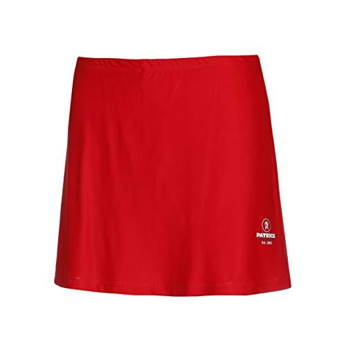 Falda deportiva para mujer – Moderna falda elástica para mujer con pantalón corto estrecho, 100% microfibra de poliéster, ideal para tenis y golf, Patrick Exclusive Line