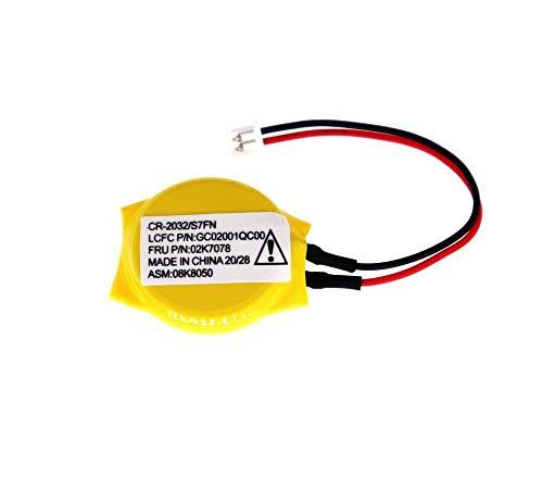 LeFix RCT CMOS Battery Compatible with Lenovo Thinkpad E445 E545 E440 E540 E450 E455 E550 E555 E550c E450c E460 E560 E465 E565 E470 E475 E570 E575 E480 E485 E430 E435 E530 E535 E330 E430c