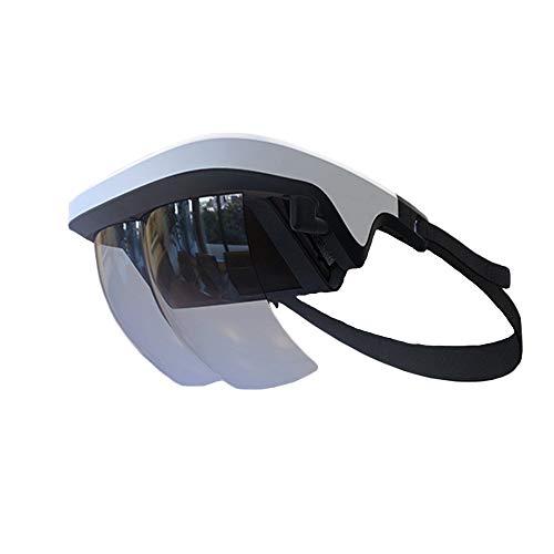 TLgf Virtual Reality Brillen, Smart AR Gläser 3D-Video Augmented Reality VR Headset für iPhone & Android (4.5-5.5 ' ' Screen), 3D-Videos und Spiele